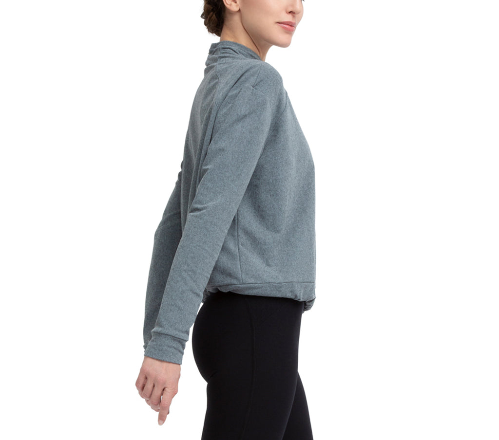 Power-stretch technical sweatshirt