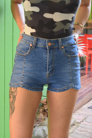 Refuge Denim Shorts High Waist