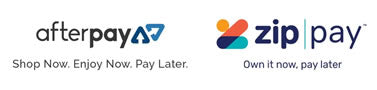 Afterpay & Zippay available