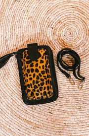 Cheetah Phone Pouch | Amazing Leather Phone Pouch From Tonketti Trading