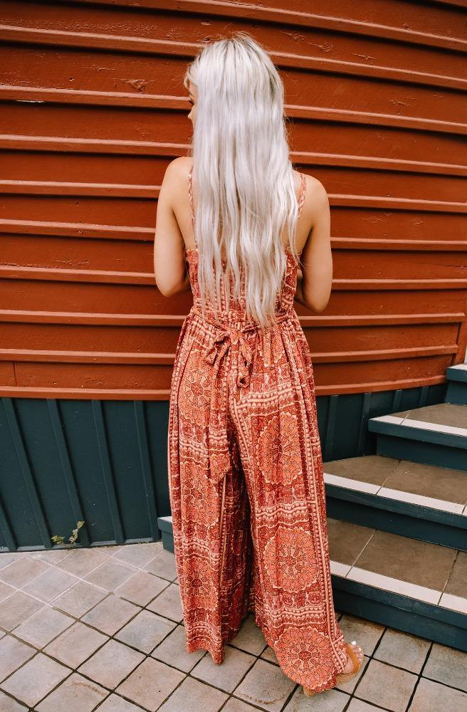Rusty Road Pant Suit - Tonketti