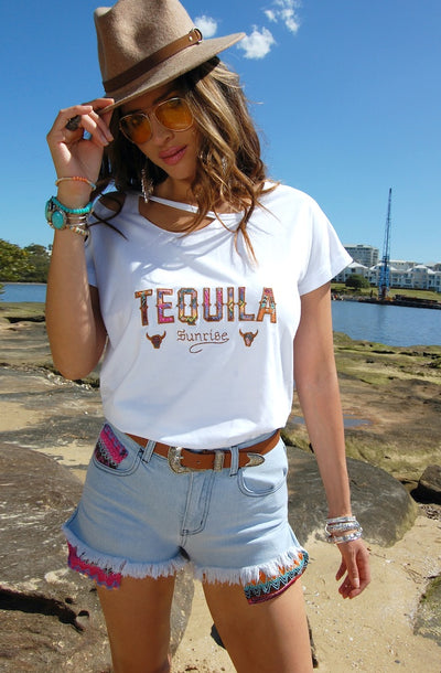 Tequila Shirt in White