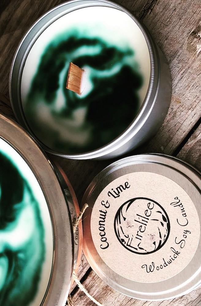 Bohemian Range Coconut and Lime Candles