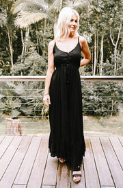 Angelina Maxi Black