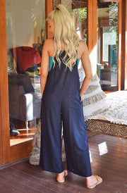 Freez Black or Navy Overalls | Bohemian Style by Tonketti