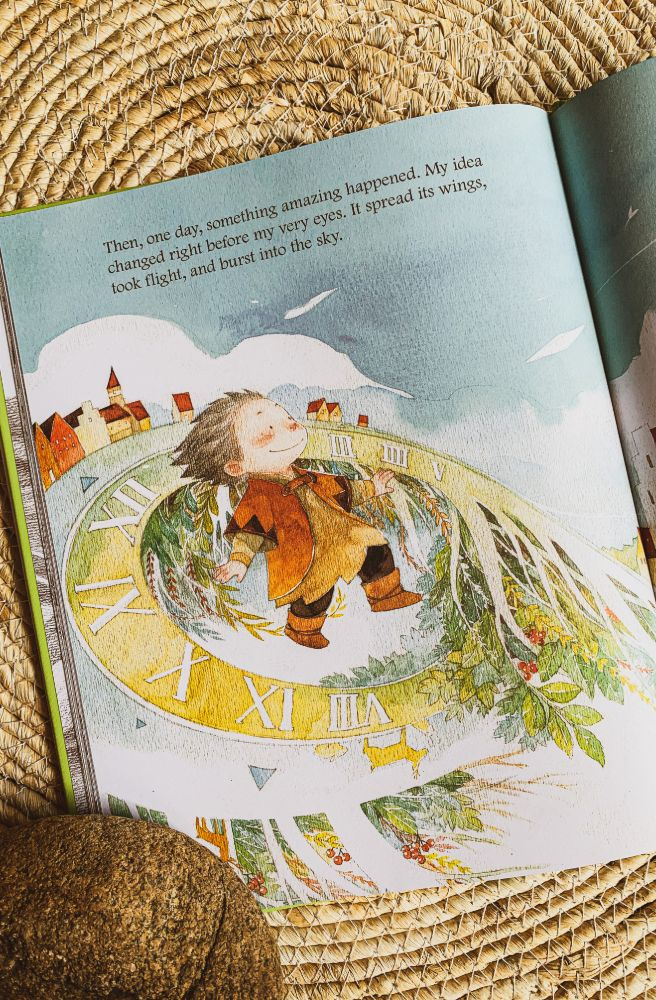 What Do You Do With An Idea Inside | Children's Educational Story Books From Tonketti