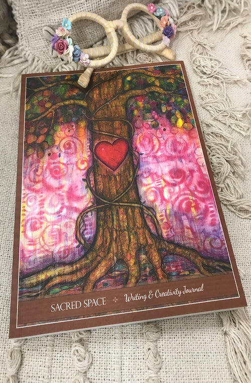 Sacred Space Writing and Creativity Journal by Toni Carmine Salerno | Bohemian Style by Tonketti