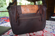 Ivy Leather Laptop Bag | Bohemian Style by Tonketti