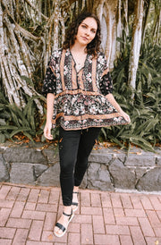 Jaase Eternity Print Chloe Top