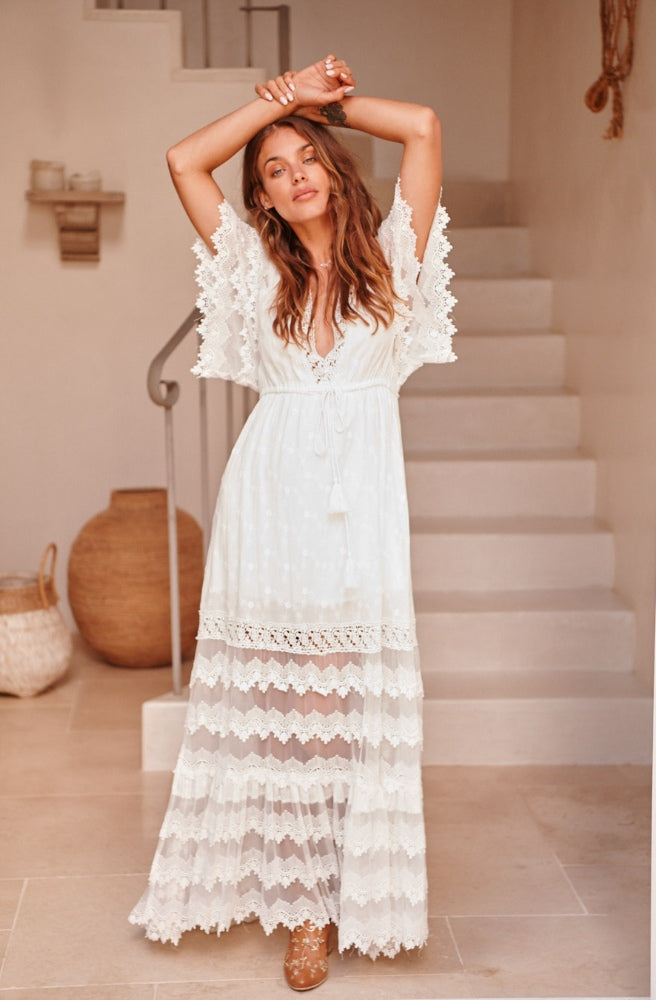 Jaase Bungalow Maxi Dress | Bohemian Style by Tonketti