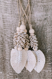 Lost at Sea Feather Dangle