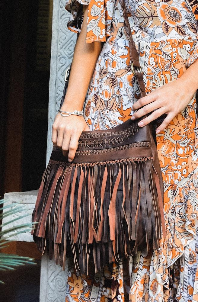 Nayeli Fringe Shoulder Bag | Bohemian Style by Tonketti