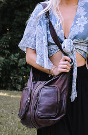Suzies Pocket Rocket Leather Bag | Bohemian Style by Tonketti
