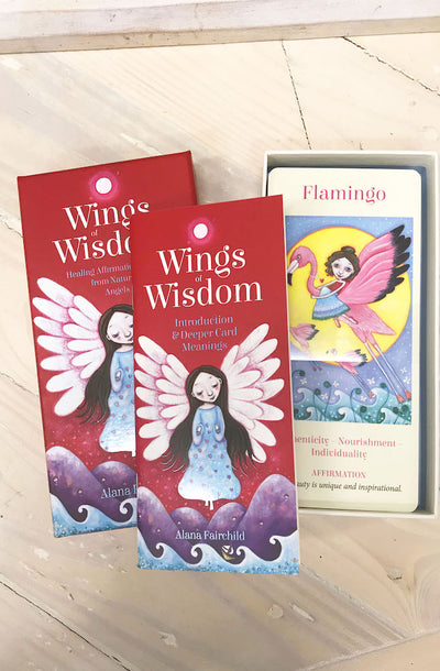 Wings Of Wisdom Affirmation Cards by Alana Fairchild | Bohemian Style by Tonketti