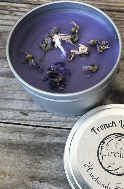 Botanical Range French Lavender Candles