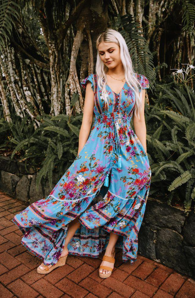 Enchanted Boulevard Nafisa Maxi Dress