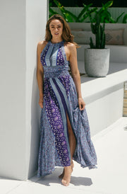 Jaase Sapphire Print Endless Summer Maxi Dress
