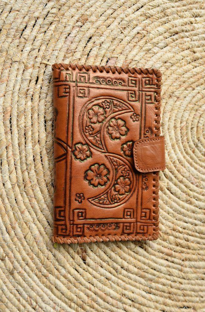 Moonflower Leather Wallet - Tonketti