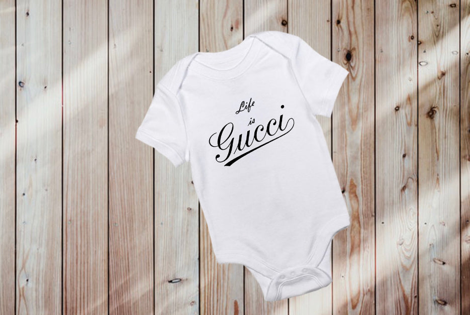 Life is Gucci Onesie