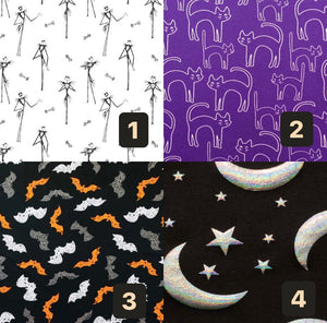 Halloween Swaddle Set's (CHOOSE YOUR PRINT)