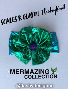 SCALES R GLAM!  FlashyKnot