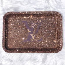 Load image into Gallery viewer, Glittered Fashion Custom Rolling Trays (MORE CHOICES)