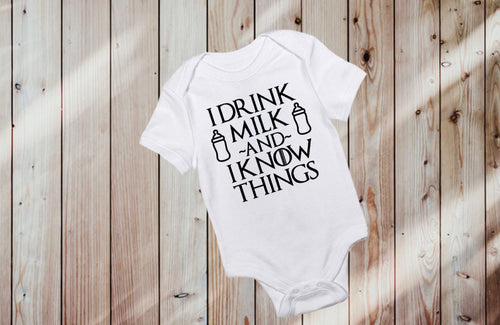 I DRINK AND I KNOW THINGS Onesie
