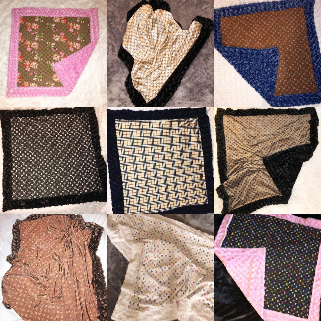 Fashion Blanket Custom Order Baby & Adult Throws