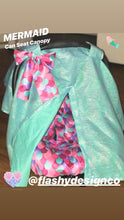 Load image into Gallery viewer, MERMAID MINKY!  Car Seat Cover