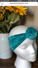 Load image into Gallery viewer, VELVET AQUA! Flashy Knots