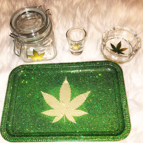 GOLD FOIL LEAF! Rolling Tray