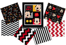 Load image into Gallery viewer, MICKEY MOUSE Crib Bedding