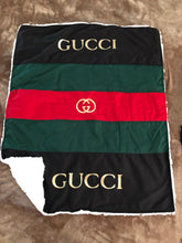 Load image into Gallery viewer, Life is Gucci Baby Blanket