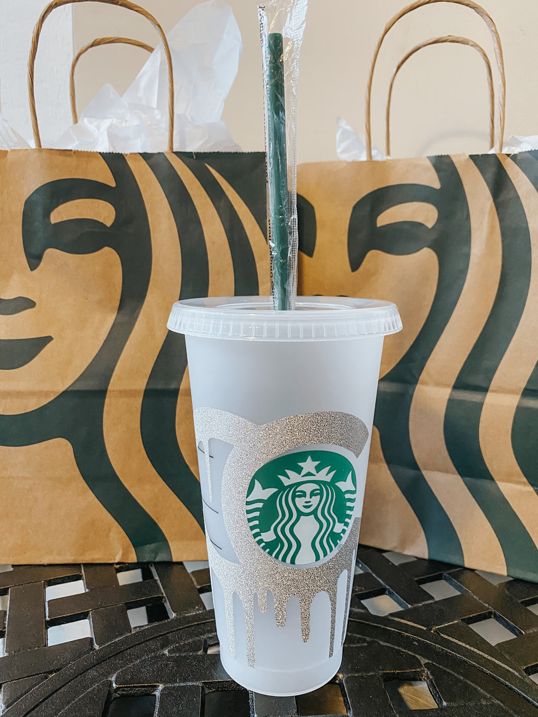 Fashion Drip Starbucks Reusable Tumbler Personalized