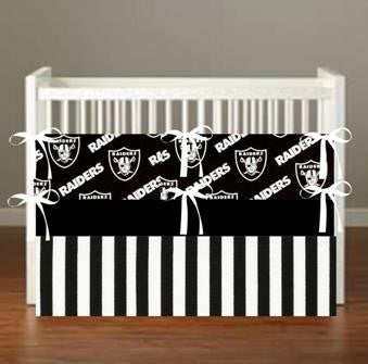 OAKLAND RAIDERS THEME Crib & Toddler Bedding  *more choices*