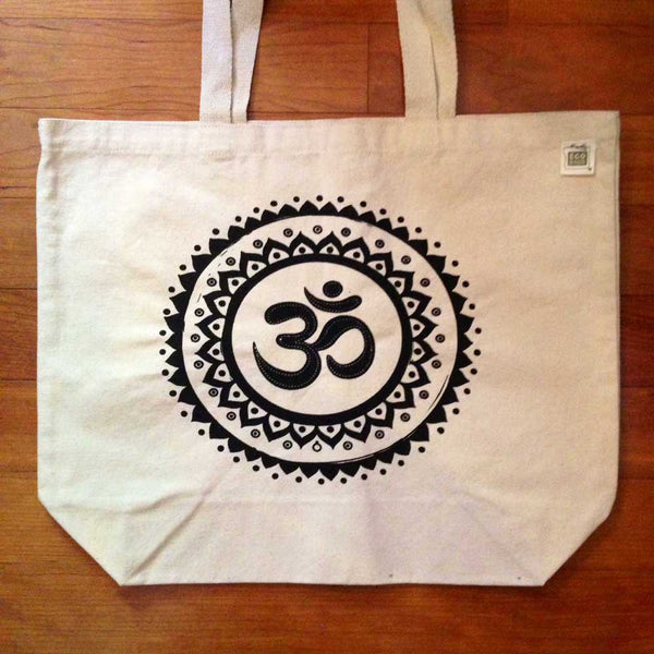 24-PACK NATURAL COTTON TOTE BAG 10oz CUSTOM LOGO OR BACK