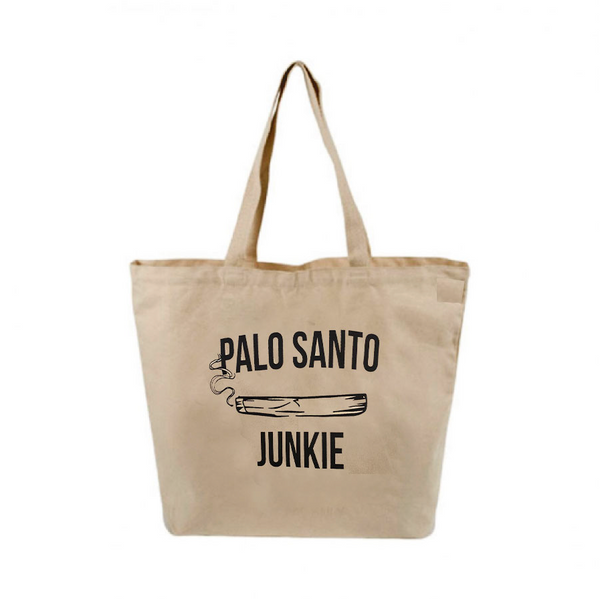 PALO SANTO ~ CANVAS NATURAL TOTE  FY665-ORT-NT