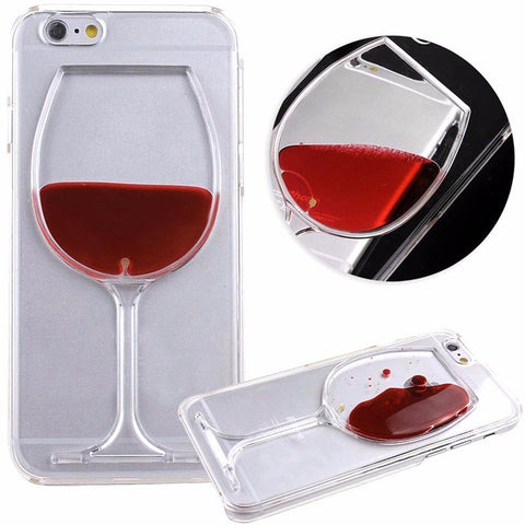 Iphone Or Samsung Wine Glass Phone Case