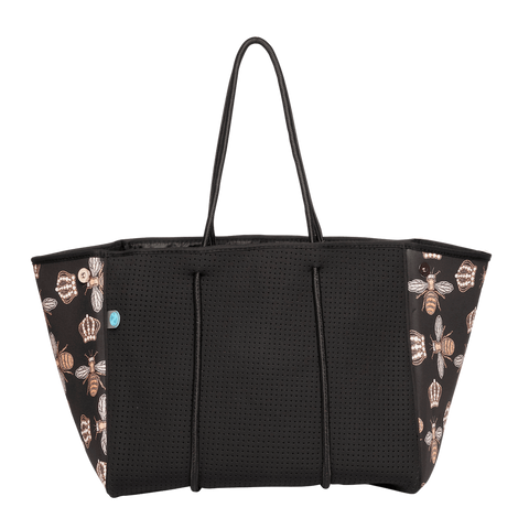 shop chuchka bees knees neoprene tote