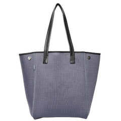 shop chuchka long line neoprene tote in charcoal