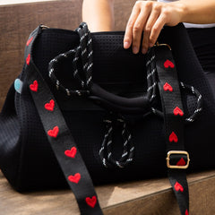 chuchka detachable printed bag strap