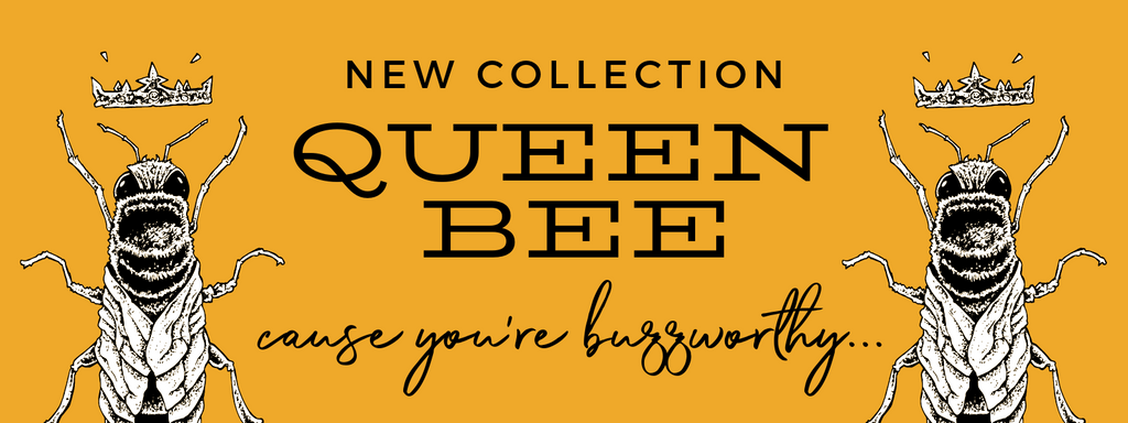 chuchka aw19 collection - Queen Bee - neoprene bags and eco-friendly yoga mats