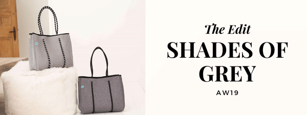 Shop grey neoprene bags - chcuhka