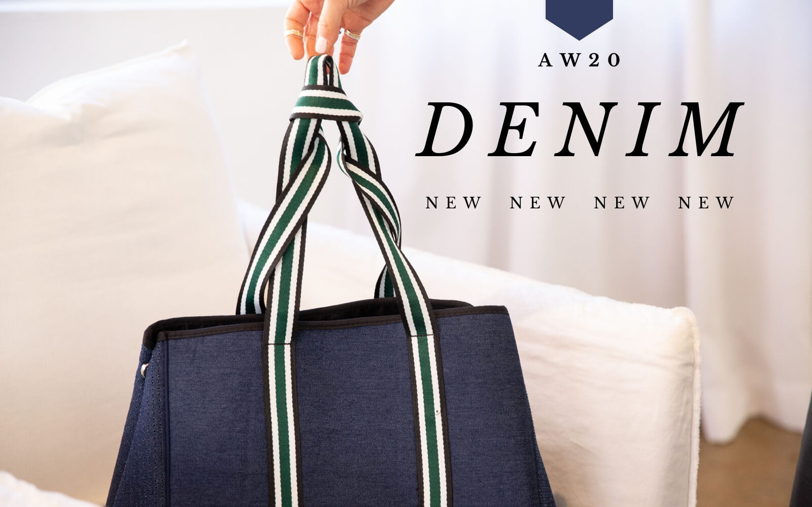 Denim Tote Bag Range