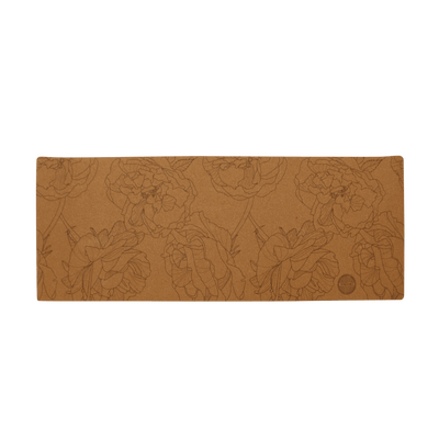 Peony Cork Yoga Mat (Eco Friendly / Toxic Free) - Chuchka
