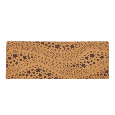 Starry Night Cork Yoga Mat (Eco Friendly / Toxic Free)