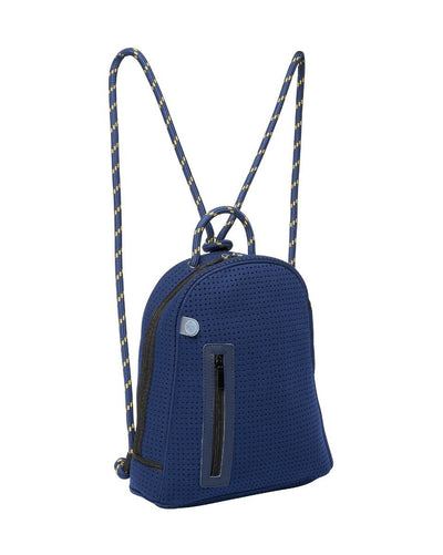 In The Navy Neoprene Backpack (Navy) - Chuchka