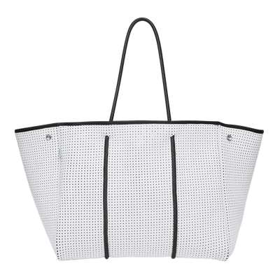 Kalli White Leopard Beach Bag - Chuchka
