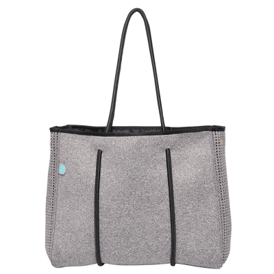 Charcoal Mini Neoprene Tote - Chuchka