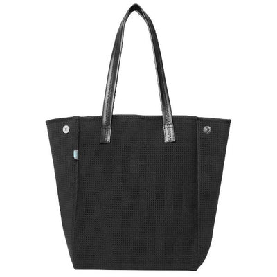 Shadows Longline Neoprene Handbag (Black) - Chuchka